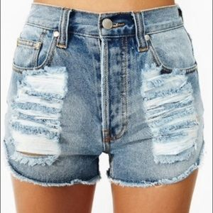 Minkpink slasher shorts